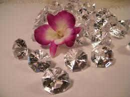 wedding decoration supplies table confetti wedding decoration large faux diamonds plastic