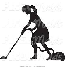 royalty free vacuum stock maid designs