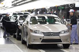 toyota lexus 2012 toyota nears 10 million car annual output the japan times