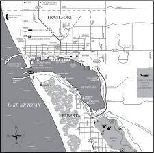 Chelsea Michigan Map by Frankfort Elberta City Map Frankfort Michigan U2022 Mappery