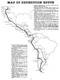 Map Of South America And Mexico by Cc Vintage The U201cadventure South U201d To The Tip Of South America In A