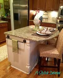 Kitchen Island Makeover Ideas Kitchen Island Idea But In A Different Cabinet Color Than White To