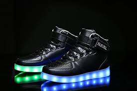 light up shoes for girls slevel 16 colors led light up shoes usb flashing sneakers for kids