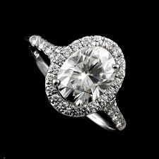 mounting rings images Oval halo ring mounting split shank diamond engagement ring jpg