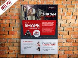 gym and fitness club flyer template free psd u2013 uxfree com