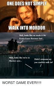Meme Generator Boromir - 25 best memes about one does not simply meme generator one
