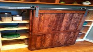 Barn Red Kitchen Cabinets by Modern Kitchen Tasty Kitchen Enchanting Barn Door Distressed Wood