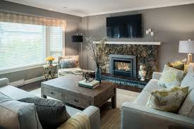 gray color schemes living room rustic grey houzz