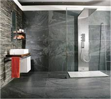 slate bathroom ideas slate bathroom ideas home design ideas and pictures