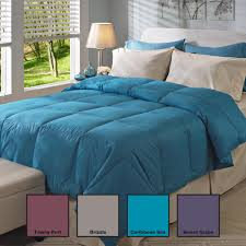 Hotel Grand Down Alternative Comforter Oversized 350 Thread Count All Season Down Comforter Free