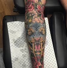 bold and beautiful neo traditional tattoos by mellowship