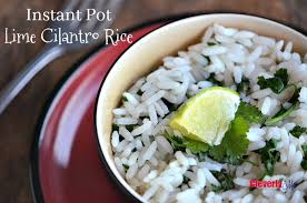 instant cuisine instant pot lime cilantro rice recipe cleverly me south
