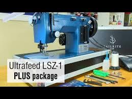 Awning Sewing Machine Sailrite Ultrafeed Lsz 1 Plus 110v Walking Foot Sewing Machine