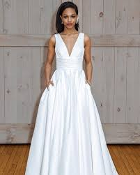 david bridals david s bridal pleated v neck wedding dress 2018 bridal