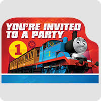 thomas the tank engine party supplies birthday in a box