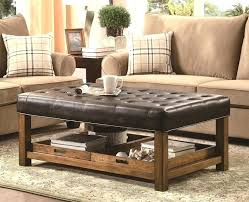 large padded coffee table wood ottoman coffee table marvelous ottoman coffee table tray coffee