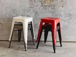 Industrial Metal Bar Stool Metal Bar Stools With Wood Seat Vintage Industrial Dhp Luxor Stool