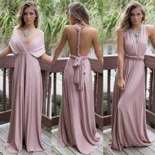 women long formal bridesmaid dress party gown prom evening dress