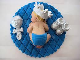baptism decorations ideas for boy boy prince baby shower first birthday fondant boy cake topper