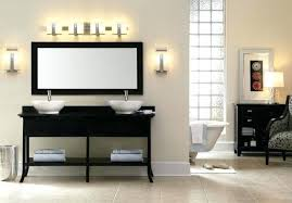 Bathroom Lighting Placement Bathroom Lighting Above Mirror Mirror Bathroom Lights For
