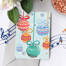 musical christmas cards ebay