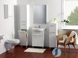 Bathroom Cabinet With Hamper Freestanding Bathroom Laundry Hamper Tall Storage Cabinet Gloss