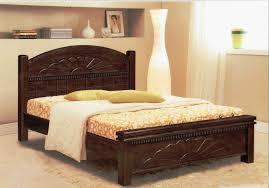 bedroom impressive double bed designs in wood of home design