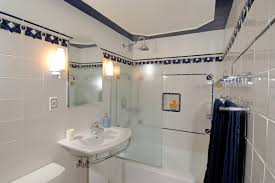bahtroom white ceiling fan color in cool bathroom model with