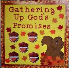 gods grace falls on us fall thanksgiving bulletin board