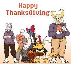 happy thanksgiving animation artstation undertale longtale longtale animation