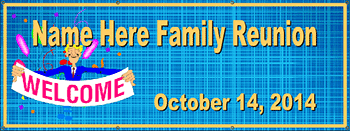 family reunion banners banner templates by rocket banner