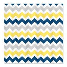 Yellow White Chevron Curtains Buy Cafepress Yellow Blue Grey Chevron Stripes Shower Curtain