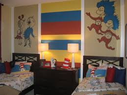 Dr Seuss Bedroom Model Home Murals Artist In Orlando U0026 Lake Mary Fl Juli Simon