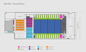 Security Floor Plan Data Center Floor Plans London One Zenium Data Centers