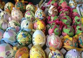 painted easter eggs for sale hop downtown to celebrate easter passover downtown cranford