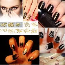 the most gorgeous embellish alloy stud nail decoration beauty life