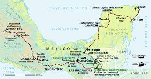 Map Of Yucatan Mexico by Mexico Holiday Mexico City To Yucatan Peninsula Helping Dreamers Do