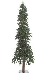flat back pine artificial trees for tight spaces