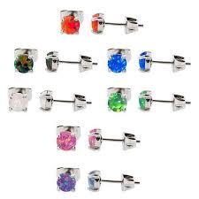 stainless steel stud earrings stirrups wire stud earrings tulsa jewelry