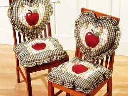 chair pads for kitchen chairs inspirations with cushions ties