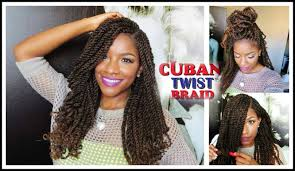 tutorial styling w freetress equal cuban twist hair youtube