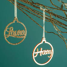 Cheap Personalised Christmas Decorations Personalised Christmas Tree Decorations And Baubles