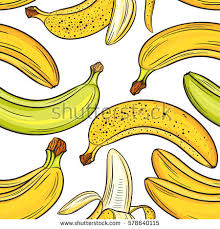 bananas on white background bright colorful stock vector 570437143