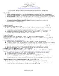 Program Coordinator Resume Example Cover Letter Junior Project Manager