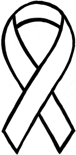 how to draw awareness ribbons for causes such as breast cancer and