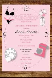 around the clock bridal shower around the clock wedding shower invitation custom around the