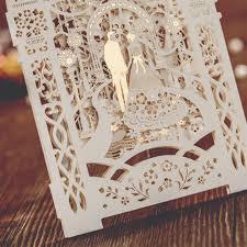 3d wedding invitations 1 set fashion 3d design bird butterfly laser cut wedding