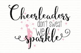 i don t sweat i sparkle don t sweat we sparkle cricut design space and