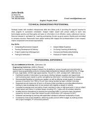 Manufacturing Engineer Resume Sample by Technical Resume Template Engineering Cv Template Engineer