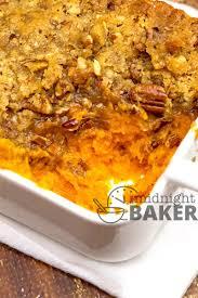 sweet potato thanksgiving dish sweet potato casserole copycat ruth u0027s chris the midnight baker